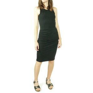 James Perse Ruched Belt Bodycon Dress Size 1